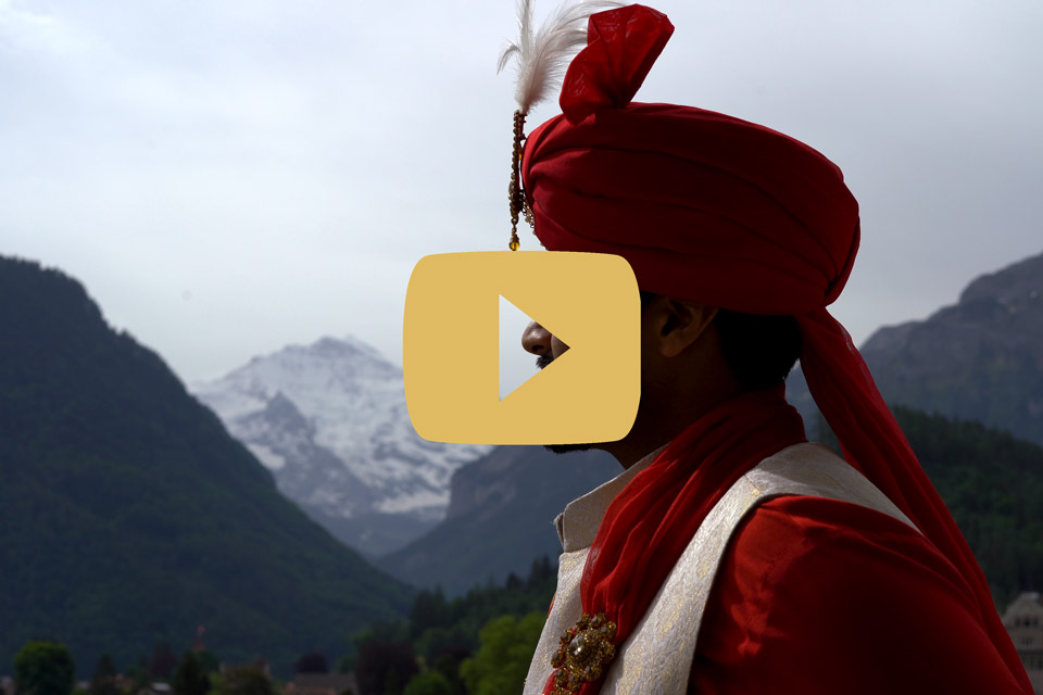 esküvői cinematográfia svájc indiai